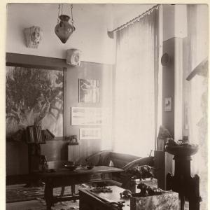 Lo studio di Duilio Cambellotti
