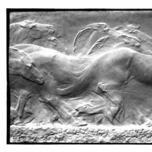 I cavalli della palude o Bassorilievo dei cavalli