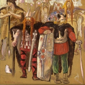 Guerrieri galli: Pollione, Flavio