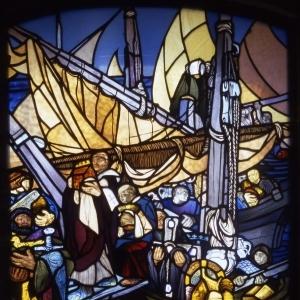 Vetrata dei navigatori detta del gioielliere o dei veneti a Rialto