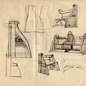 Progetto per scanno dei timoni