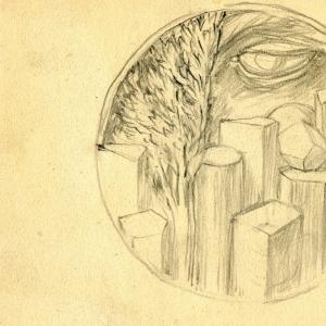 Studio per medaglia commemorativa per A. Foschini